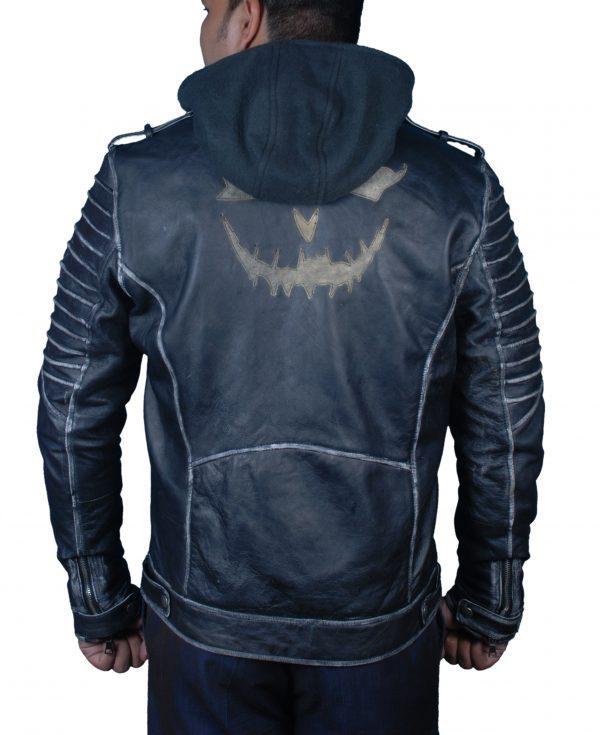 Suicide Squad The Killing Jacket Joker Leather Jacket Halloween Jacket