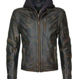 Suicide Squad Vintage Dragon The Killing Joker Black Leather Jacket 1