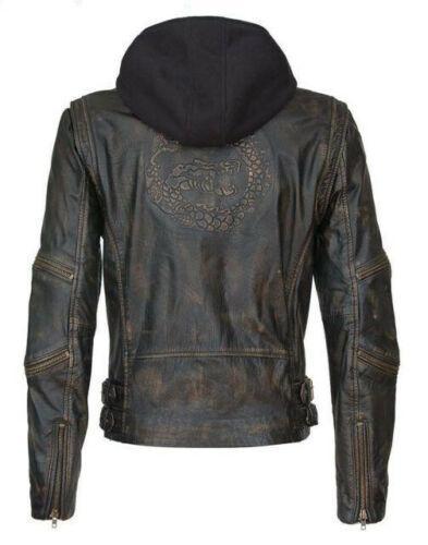 Suicide Squad Vintage Dragon The Killing Joker Black Leather Jacket